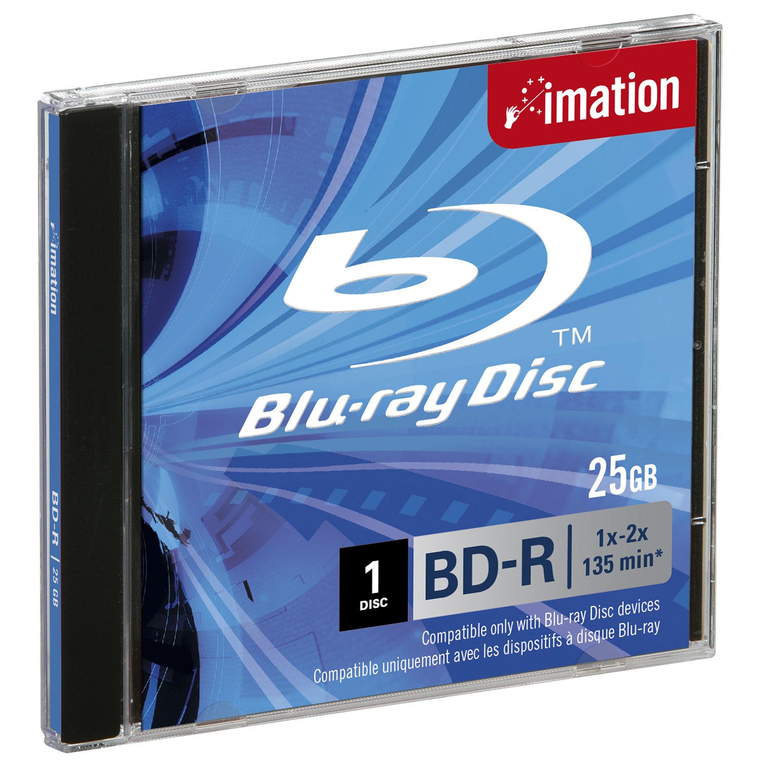 blu ray disk Buy verbatim bd-r blu-ray 25gb 6x white inkjet hub printable discs (50 pack spindle) featuring 25gb, up to 6x write speed over two hours of high-definition video.