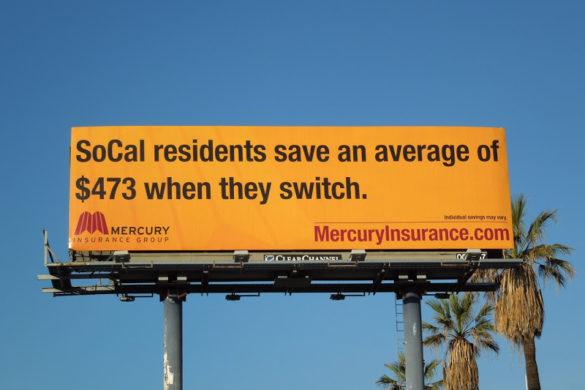 Mercury switch save billboard