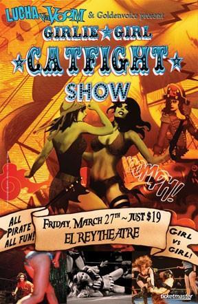 Girlie Girl Catfight Show